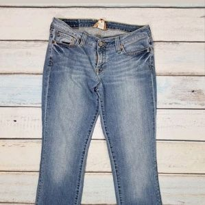 Lucky Brand Light Blue Wash Lola Straight Jeans
